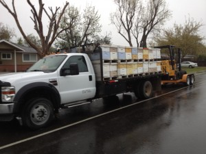 Transporting Bees for Pollination